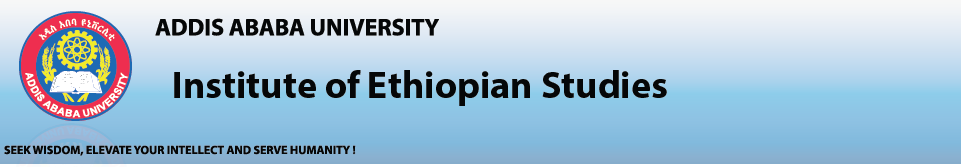 Addis Ababa University Institute of Ethiopian Studies, AAU IES