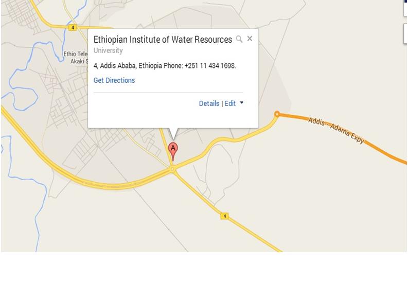 Ethiopia Googlemap