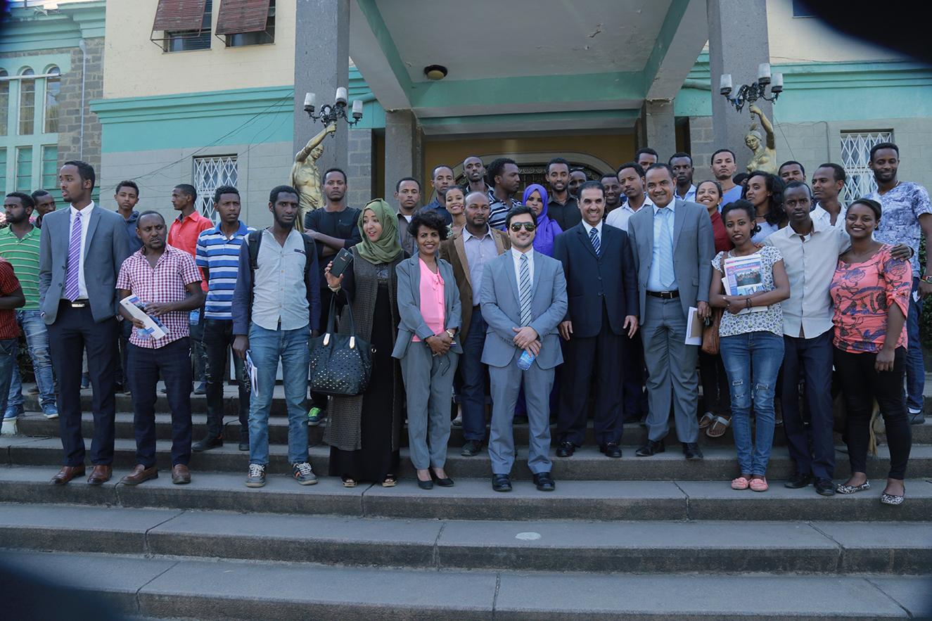 Ambassador of Kuwait to Ethiopia speaks at AAU | Addis Ababa University