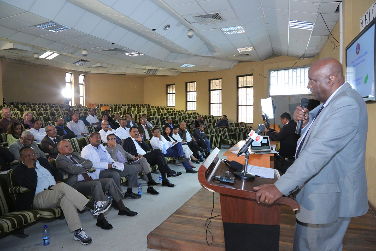 College of Health Science launches new program | Addis Ababa University