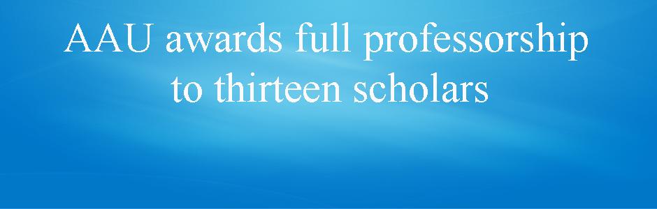AAU awards full professorship to thirteen scholars | Addis Ababa