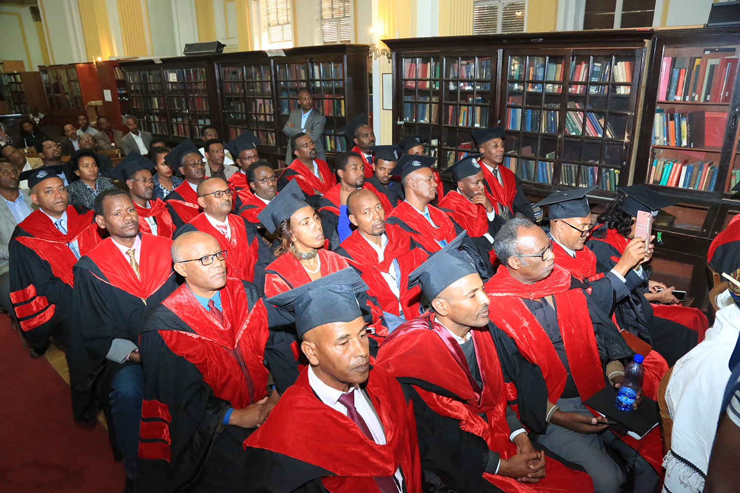 AAU confers honorary degree up on Professor Asmerom Legesse