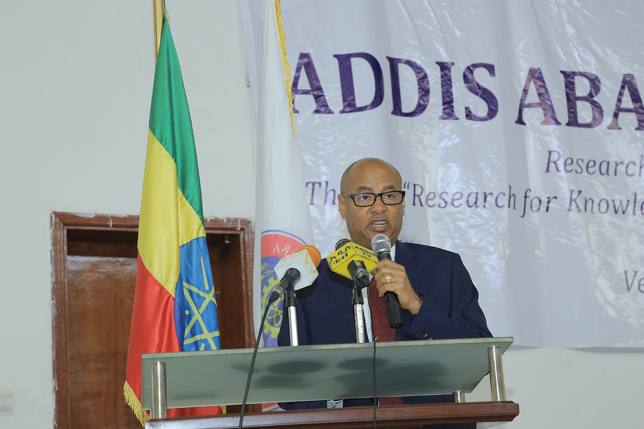 8th AAU Research Week launched | Addis Ababa University