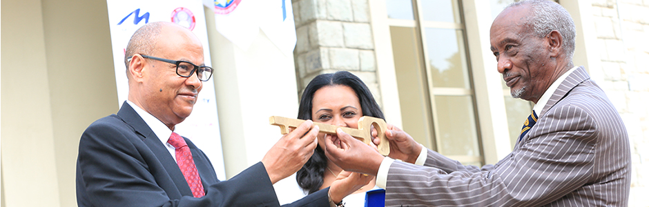 AAU Inaugurates IES Library | Addis Ababa University