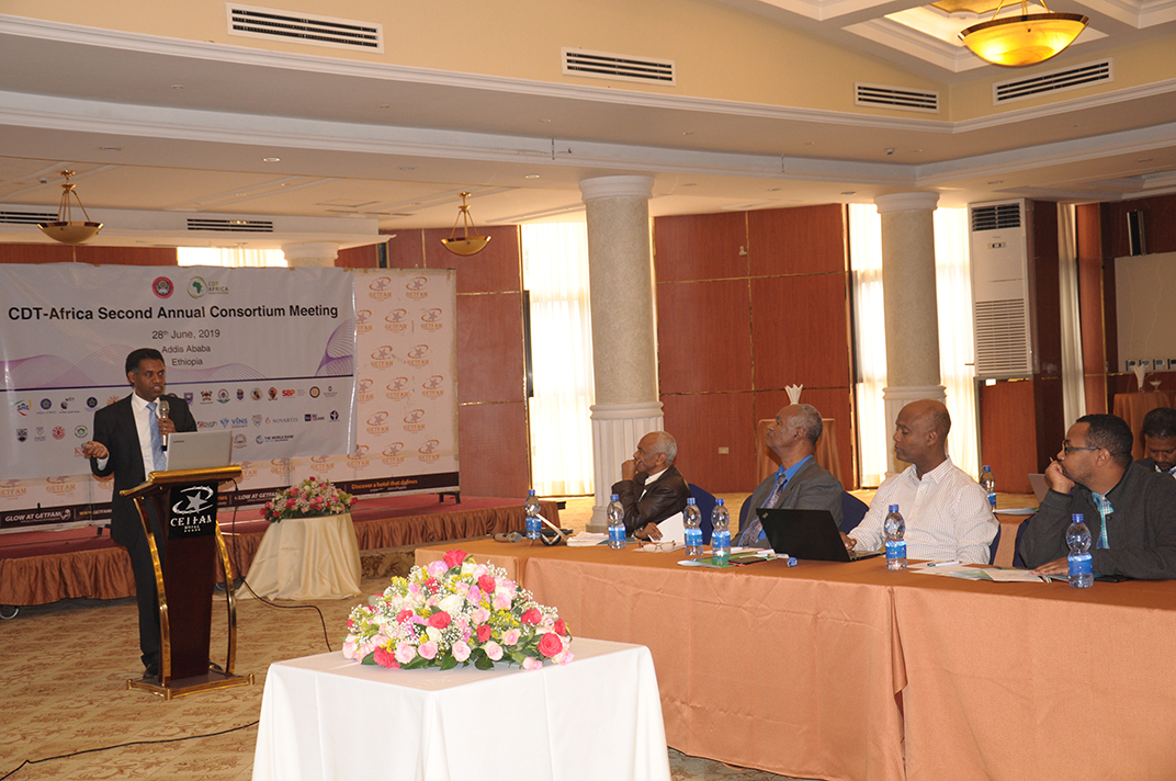 CDT-Africa Consortium Meeting launched   Addis Ababa University
